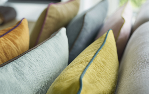 Matchande kuddar till dina gardiner