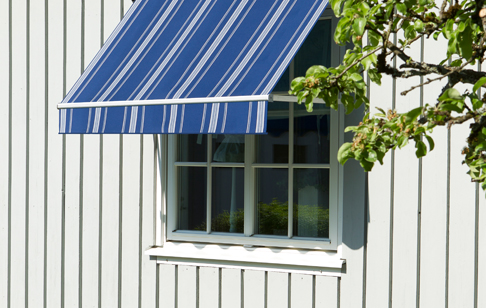 Fönstermarkiser i många färger och utföranden
